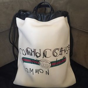 gucci coco gg drawstring backpack